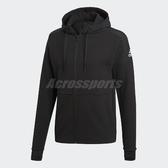 adidas 連帽外套 Climaheat Stadium Jacket 黑 基本款 男款 【ACS】 CW3252