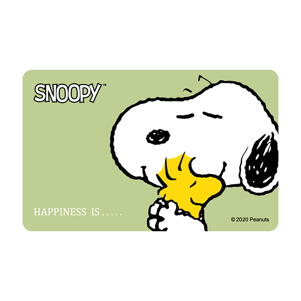 SNOOPY《HAPPINESS IS》一卡通