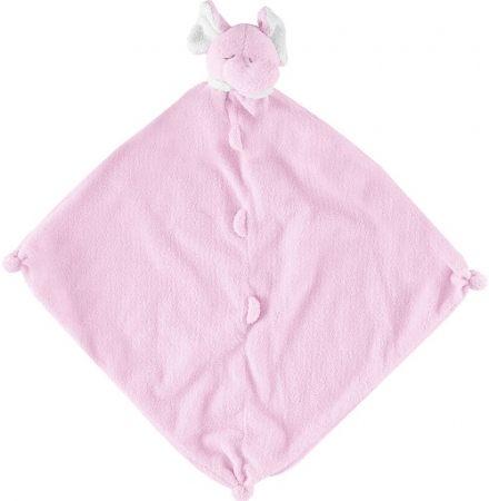 美國Angel Dear 動物嬰兒安撫巾 粉紅大象