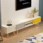 北歐電視櫃茶幾組合套裝歐式現代簡約大小戶型客廳臥室影視櫃地櫃ATF 三角衣櫃