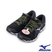 【MIZUNO 促銷8折】MIZUNO WAVE SKY 2 一般型男款慢跑鞋 黑白 J1GC181104 男鞋