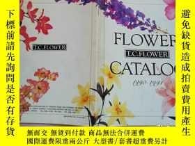 二手書博民逛書店FLOWER罕見T.C.FLOWER CATALOG 1990-