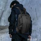 後背包雙肩包背包男士大容量學生書包男時尚潮流運動休閒簡約電腦旅行包 蘿莉小腳丫