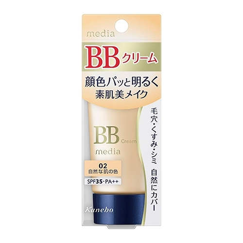 媚點自然光感美肌BB霜02自然膚色SPF35【寶雅】