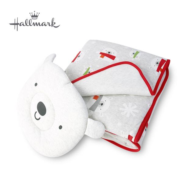 Hallmark Babies 節日小熊造型枕頭被子組 HH3-N11-L2-LU-NG