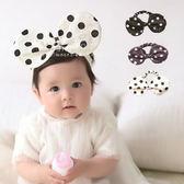 大圓點老鼠耳朵造型髮帶 兒童髮飾 髮帶 造型髮帶