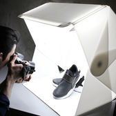 60cm日光寶盒折疊小型專業攝影棚 升級拍照柔光箱YYP    琉璃美衣