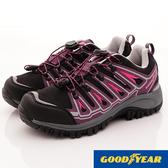 【GOODYEAR】多功能防水健行鞋-GAWO72007-紫色-女段-現貨