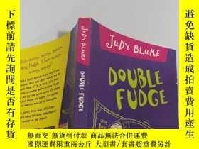 二手書博民逛書店DOUBLE罕見FUDGE :雙層軟糖Y200392