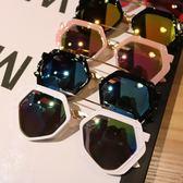 男童眼鏡潮新款兒童太陽鏡小孩男女寶寶公主時尚個性墨鏡