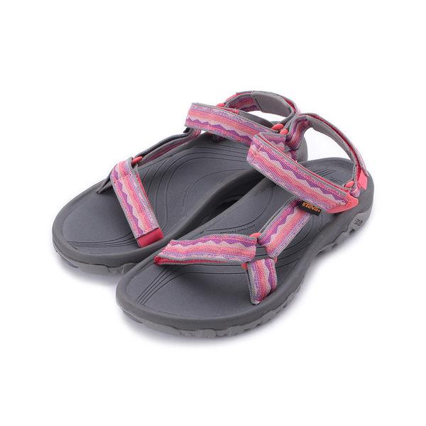 TEVA HURRICANE XLT 織帶涼鞋 珊瑚紅 TV4176LCR 女鞋 鞋全家福
