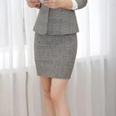 學院復古格紋經典職人短裙[9X201-PF]美之札