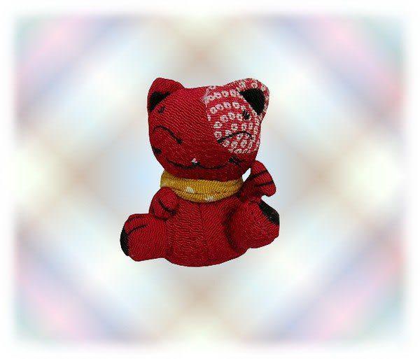 【波克貓哈日網】★開運招財貓★  開運招財小吊飾 《紅色》選個隨身吊飾改變你的運勢!
