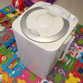 半全自動大容量迷你洗衣機單筒不銹鋼小型殺菌寶寶家用220Vigo 夏洛特居家