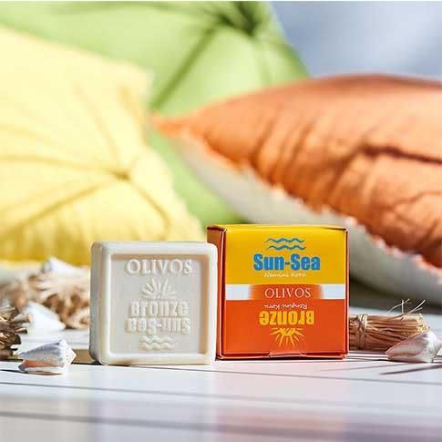 【Olivos奧莉芙的橄欖】土耳其手工皂-曬後防護橄欖皂/125g純天然橄欖油製成