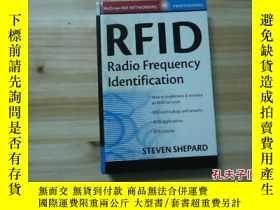 二手書博民逛書店RFID罕見RADIO FREQUENCY IDENTIFICA