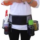 超寶工具腰帶 保潔員工具腰包 清潔衛生工具收納包 物業專業腰帶 設計師