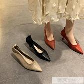 細跟單鞋女2020年夏季新款韓版時尚百搭網紅淺口仙女風高跟鞋  夏季新品