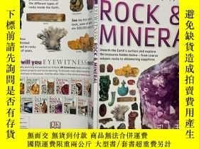 二手書博民逛書店DK罕見EYEWITNESS Rock & Mineral 岩石