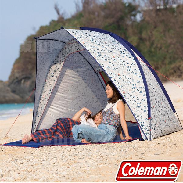 Coleman CM-34607 露營地圖海灘遮陽帳篷 另售露營帳/烤肉帳/透氣派對帳/天幕/炊事帳