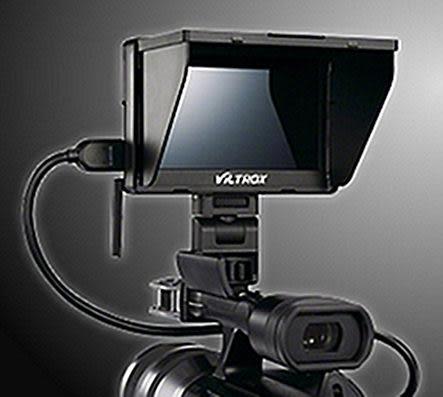呈現攝影-Viltrox 5吋LCD液晶螢幕 即時取景+有線遙控 HDMI 錄影 翻轉螢幕 高低角度 廟會CLM-V55