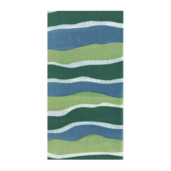 【A-Magic】台製頭巾--綠波盪漾