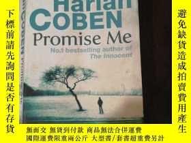 二手書博民逛書店英文原版罕見Harlan COBEN Promise MeY25