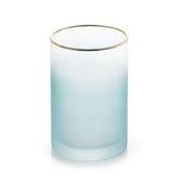 花瓶 花瓶擺件客廳插花創意簡約現代ins餐桌裝飾小清新玻璃磨砂花器 快速出貨