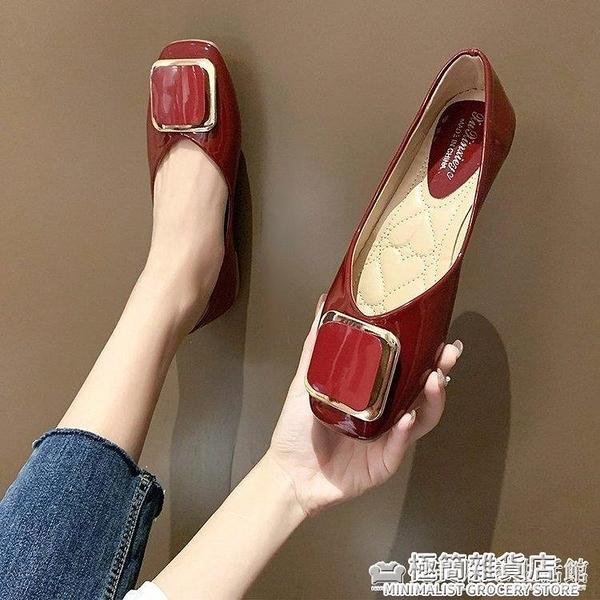 大東女鞋媽媽單鞋女夏外穿時尚百搭真皮坡跟平底中老年女士涼單鞋 雙十二全館免運
