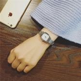 手錶 手錶女鏈子錶女款學生正韓簡約小錶盤迷你方形復古學院風時尚氣質