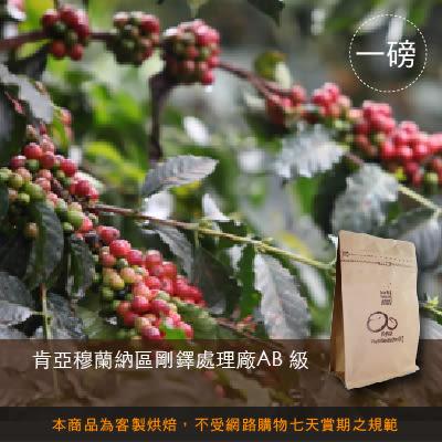 【咖啡綠商號】肯亞穆蘭納區剛鐸處理廠AB 級咖啡豆(一磅)