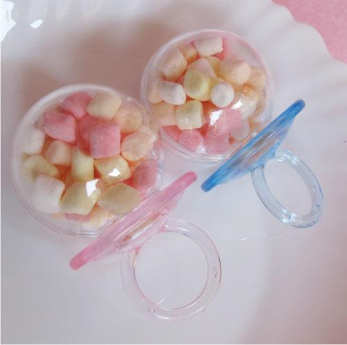 一定要幸福哦~~可愛戒子棉花糖100份.婚禮小物,送客禮、尾牙、喜糖