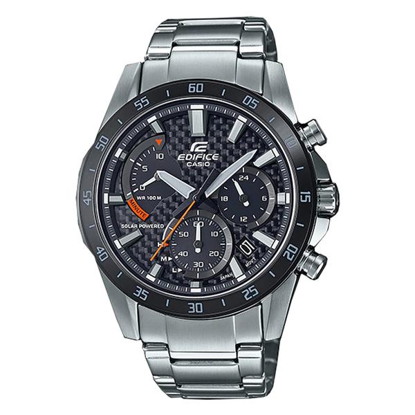 CASIO 卡西歐 手錶專賣店 EQS-930DB-1A EDIFICE 太陽能 指針男錶 不鏽鋼錶帶 防水100米 EQS-930DB