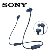 SONY無線藍牙耳道式耳麥WI-XB400-L藍