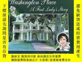 二手書博民逛書店英文原版《Washington罕見Place A First Lady s Story》華盛頓第一夫人的故事Y