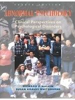 二手書博民逛書店《Abnormal Psychology, Clinical P