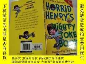 二手書博民逛書店horrid罕見henry s mighty joke book:可怕的亨利的大笑話書Y200392 不祥 不