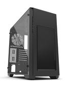 Phanteks 追風者 Enthoo Pro M ATX PH-ES515PTG_BK鋼化玻璃窗黑色電腦機殼