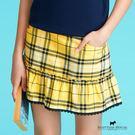 SCOTTISH HOUSE經典格紋褲裙 雙口袋設計 實用方便 下擺蕾絲滾邊 浪漫迷人