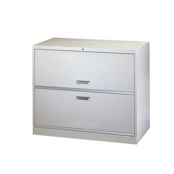 【YUDA】UC-2 複合二層式(一掀一抽) 理想櫃/鐵櫃 文件櫃/展示櫃/公文櫃