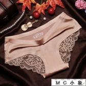 MG 內褲-無痕蕾絲面料中腰女性感內褲