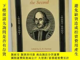 二手書博民逛書店莎士比亞《理查二世》罕見The Life and Death of King Richard the Second