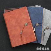 商務筆記本文具中國風簡約A5活頁公司辦公會議禮盒套裝 QG7928『樂愛居家館』