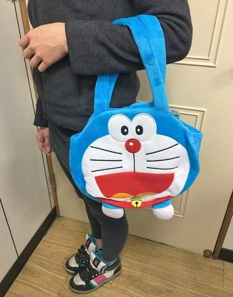 【現貨】《哆啦A夢》正版授權【大頭手提包】小叮噹 娃娃生日禮物 聖誕節 兒童節禮物