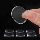 【GE301】矽膠小圓貼6入 圓形後跟貼 磨腳貼 打腳 勒腳 夾腳 鞋墊 EZGO商城