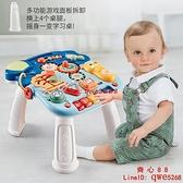 嬰兒學步車學走路神器兒童防側翻o型腿1助步手推車多功能玩具【齊心88】