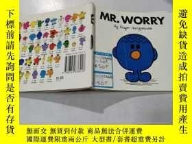二手書博民逛書店罕見mr.worry:擔心先生32Y212829