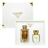 Prada La Femme 女性淡香精禮盒 (淡香精100ml+身體乳100ml)【娜娜香水美妝】
