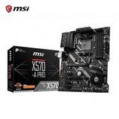 【綠蔭-免運】微星 MSI X570-A PRO AMD主機板