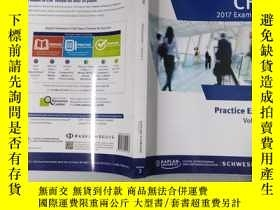 二手書博民逛書店2017罕見CFA Exam Prep Volume2Y3202